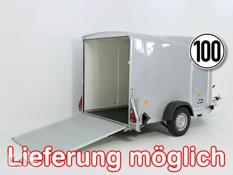 Anhänger типа Sonstige Kofferanhänger DK Vollpoly 150x290cm H:160cm|neues Modell|grau|Debon (Ko1551So), Neumaschine в Winsen (Luhe) (Фотография 1)