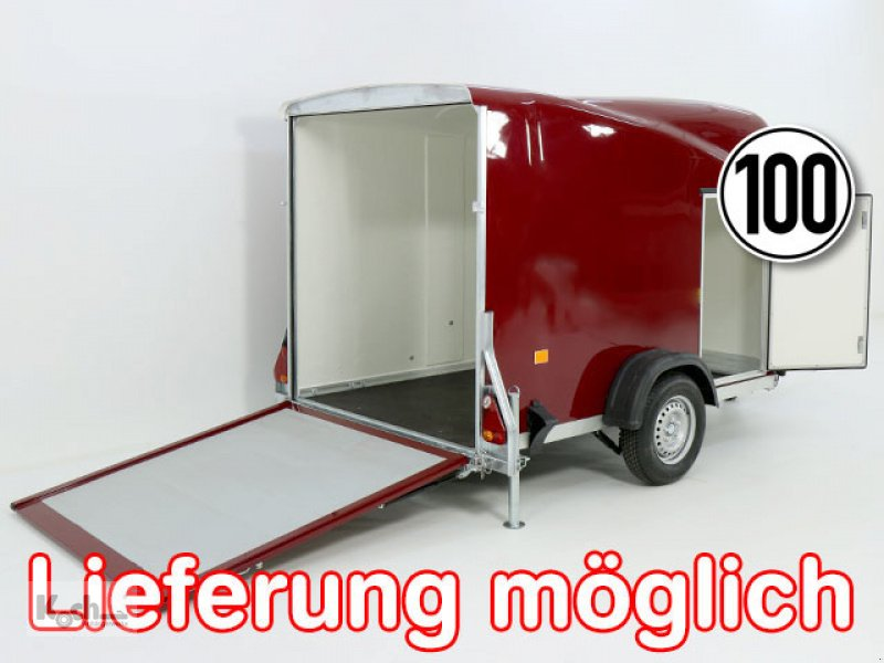 Anhänger типа Sonstige Kofferanhänger DK Vollpoly 150x290cm H:160cm|neues Modell|rot|Debon (Ko1549So), Neumaschine в Winsen (Luhe) (Фотография 1)