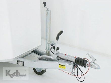 Anhänger типа Sonstige Kofferanhänger DK Vollpoly 150x290cm H:160cm|neues Modell|weiß|Debon (Ko1550So), Neumaschine в Winsen (Luhe) (Фотография 5)