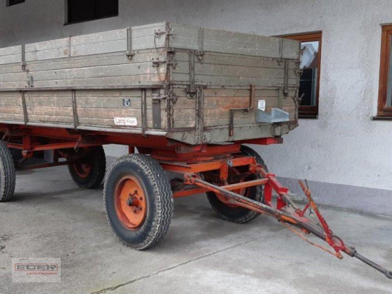 Anhänger типа Sonstige Lang 7,1 t, Gebrauchtmaschine в Ismaning (Фотография 1)