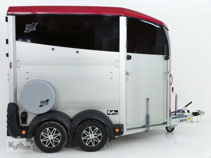 Anhänger типа Sonstige Pferdeanhänger HBX 506 Frontausstieg neues Modell rot Ifor Williams (Pf2085Iw), Neumaschine в Winsen (Luhe) (Фотография 5)