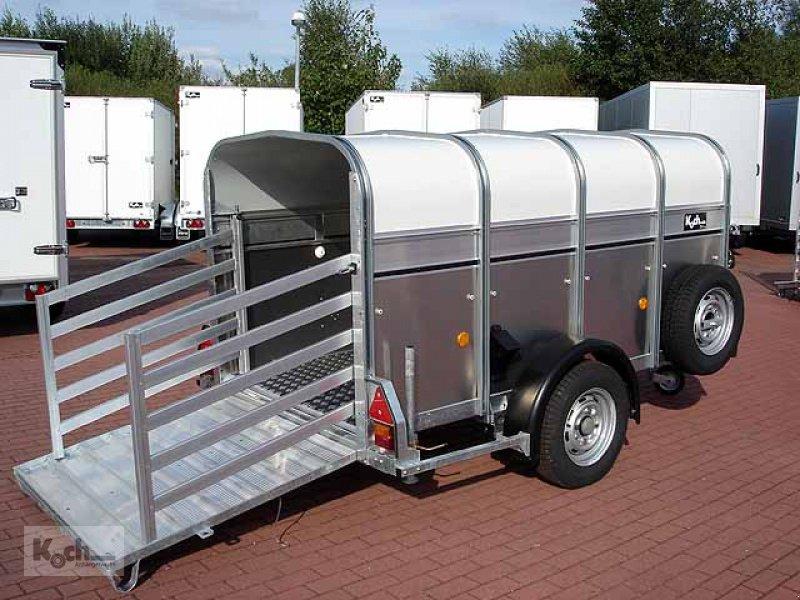 Anhänger типа Sonstige Schaf-und Kälberanhänger P8G 124x250cm Höhe:115 1,4t Ifor Williams (Vi0561Iw), Neumaschine в Winsen (Luhe) (Фотография 1)