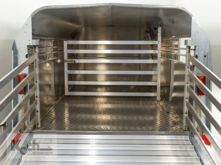 Anhänger типа Sonstige Viehanhänger TA5 156x250cm Höhe:120 2,7t Ifor Williams (Vi0666Iw), Neumaschine в Winsen (Luhe) (Фотография 6)