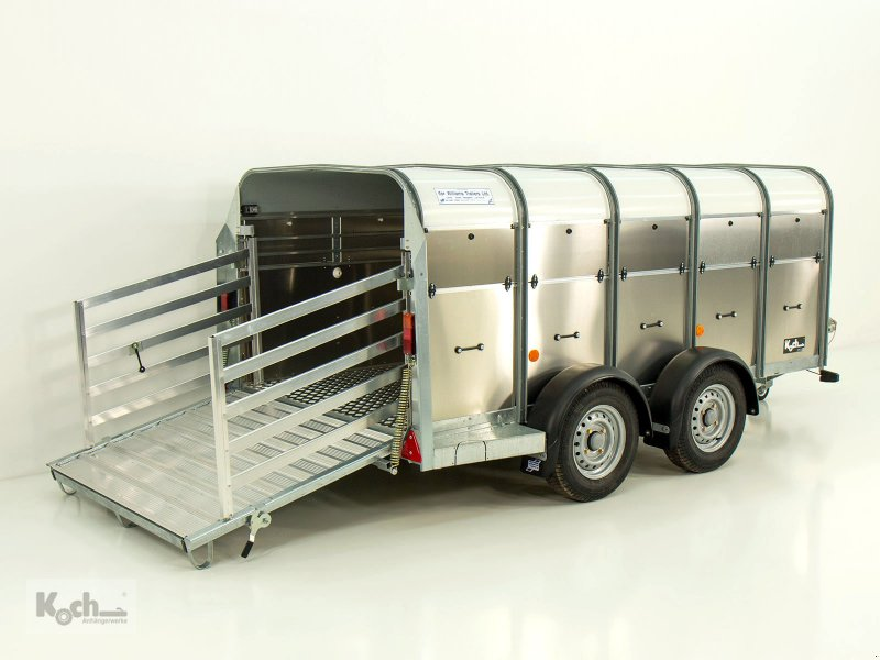 Anhänger типа Sonstige Viehanhänger TA5 156x311cm Höhe:120 2,7t Ifor Williams (Vi0593Iw), Neumaschine в Winsen (Luhe) (Фотография 1)