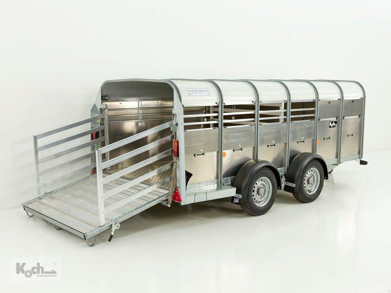 Anhänger типа Sonstige Viehanhänger TA5 156x372cm Höhe:120 2,7t Ifor Williams (Vi0658Iw), Neumaschine в Winsen (Luhe) (Фотография 1)