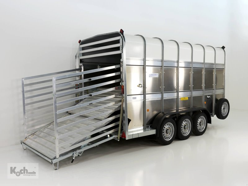 Anhänger типа Sonstige Viehanhänger TA510 178x434 Höhe:213 3,5t|Tridem|Doppelstock|Ifor Williams (Vi1939Iw), Neumaschine в Winsen (Luhe) (Фотография 1)