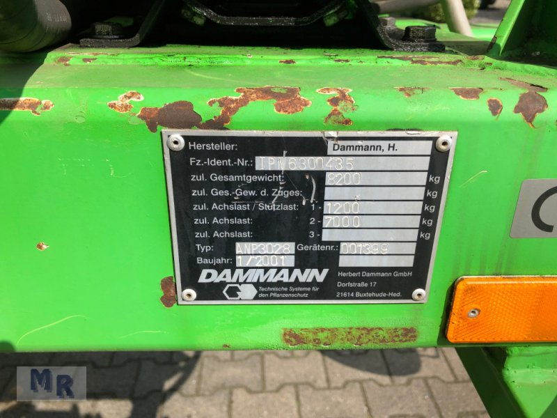 Anhängespritze des Typs Dammann ANP 3028 Interne Nr. 0435, Gebrauchtmaschine in Greven (Bild 13)
