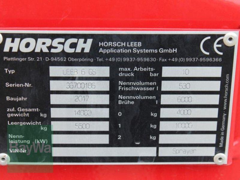 Anhängespritze des Typs Horsch 6 GS, Gebrauchtmaschine in Straubing (Bild 12)