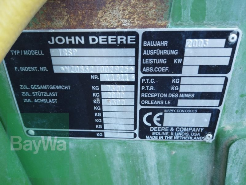 Anhängespritze des Typs John Deere 832 TF TWINFLUID, Gebrauchtmaschine in Manching (Bild 12)