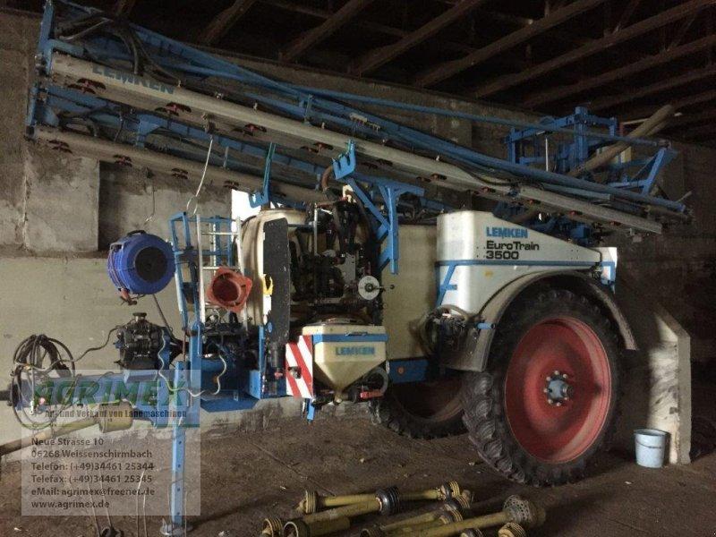 Anhängespritze des Typs Lemken Eurotrain 3500, Gebrauchtmaschine in Weißenschirmbach (Bild 1)