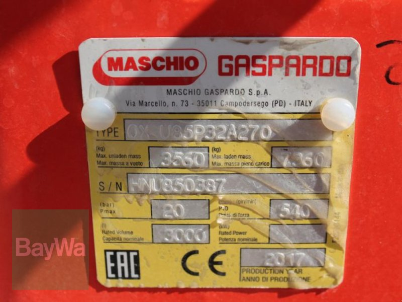 Anhängespritze des Typs Maschio CAMPO 32, Gebrauchtmaschine in Straubing (Bild 9)