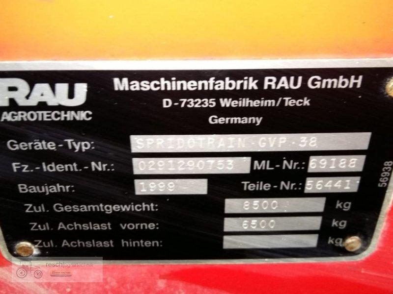 Anhängespritze des Typs Rau Spridotrain GVP 38, Gebrauchtmaschine in Wellheim (Bild 10)