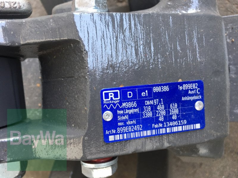 Anhängevorrichtung des Typs Fendt Piton-Fix passend für Fendt 900S4, Gebrauchtmaschine in Dinkelsbühl (Bild 5)