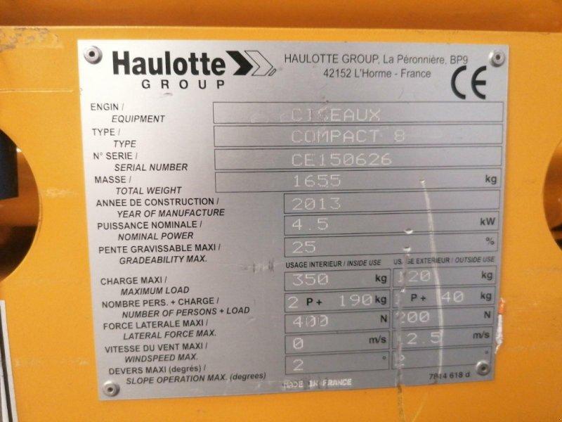 Arbeitsbühne typu Haulotte COMPACT 8, Gebrauchtmaschine v senlis (Obrázok 10)