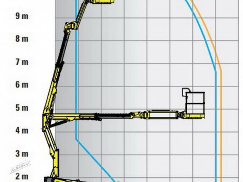 Arbeitsbühne typu Haulotte HA 12 CJ+, Gebrauchtmaschine v Massing (Obrázok 12)