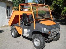 John Deere Gator, AUSA M50 4x4, Untersetzung, Sperre, Kipper, absolut NEUWERTIGER Zustand, NUR 150h, mit 60Km/h Straßenzulassung!! ATV & Quad
