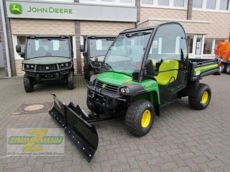 ATV & Quad des Typs John Deere Gator HPX815E Schneeschild, Gebrauchtmaschine in Wesseling-Berzdorf (Bild 1)
