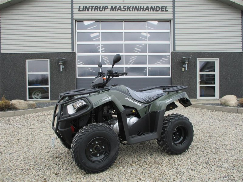 ATV & Quad des Typs Kymco MXU 300 med El-spil på til prisen, Gebrauchtmaschine in Lintrup (Bild 1)