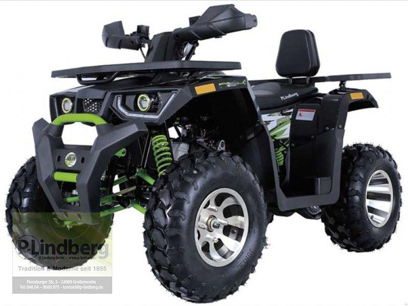 ATV & Quad des Typs P.Lindberg GmbH Quad Hunter 200  Arbeits- und Freizeit Offroad-Einsatz, Neumaschine in Großenwiehe (Bild 1)