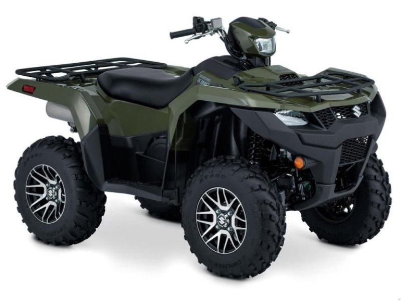 ATV & Quad типа Suzuki LT-A500XPZSM1 GRÅ, Gebrauchtmaschine в Videbæk (Фотография 1)