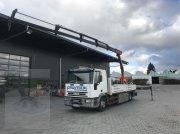 Autokran типа Iveco ML 120 E offene Pritsche mit Ladekran PK 9501 | PALFINGER, Gebrauchtmaschine в Leutkirch