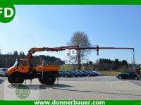 Unimog Unimog mit 110 PS und 9,80 Meter Kran automata daru
