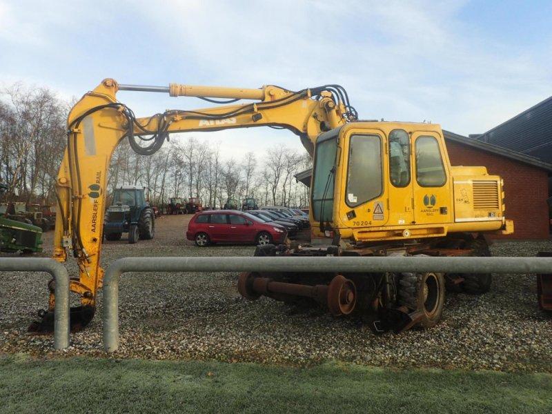Bagger типа Atlas 1604 K Rail, Gebrauchtmaschine в Viborg (Фотография 1)