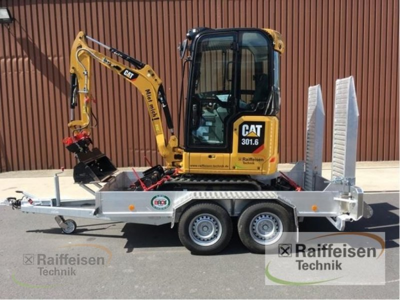 Bagger des Typs Caterpillar Minibagger 301.6-0, Gebrauchtmaschine in Frankenberg/Eder (Bild 1)