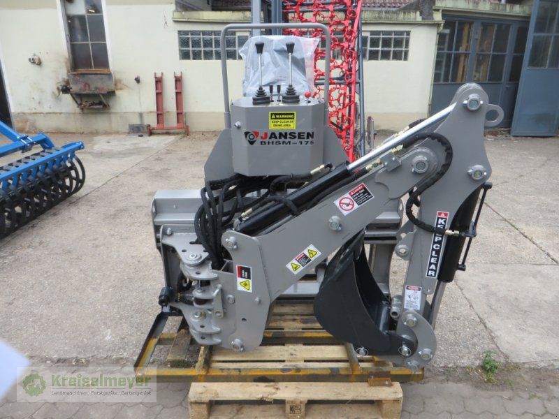 Bagger typu Jansen BHSM-175 + 300 Grabschaufel***NEU*** Heckbagger, Anbaubagger,, Neumaschine v Feuchtwangen (Obrázok 1)
