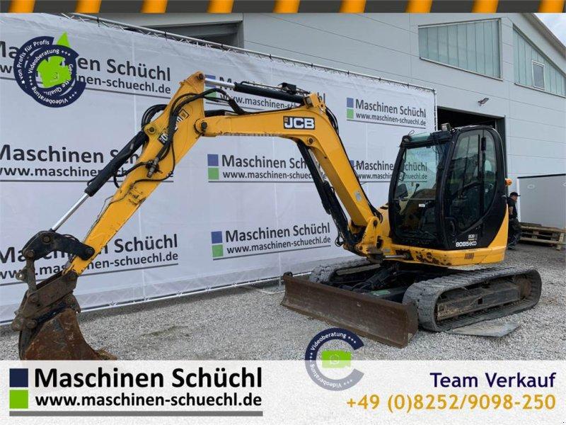 Bagger des Typs JCB 8085 ZTS 8to Minibagger, Gebrauchtmaschine in Schrobenhausen (Bild 1)