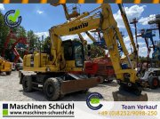 Bagger des Typs Komatsu PW160 Mobilbagger mit Rototiltvorbereitung, Gebrauchtmaschine in Schrobenhausen
