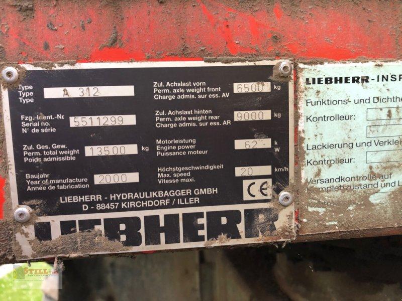 Bagger des Typs Liebherr A 312, Gebrauchtmaschine in Niederviehbach (Bild 5)