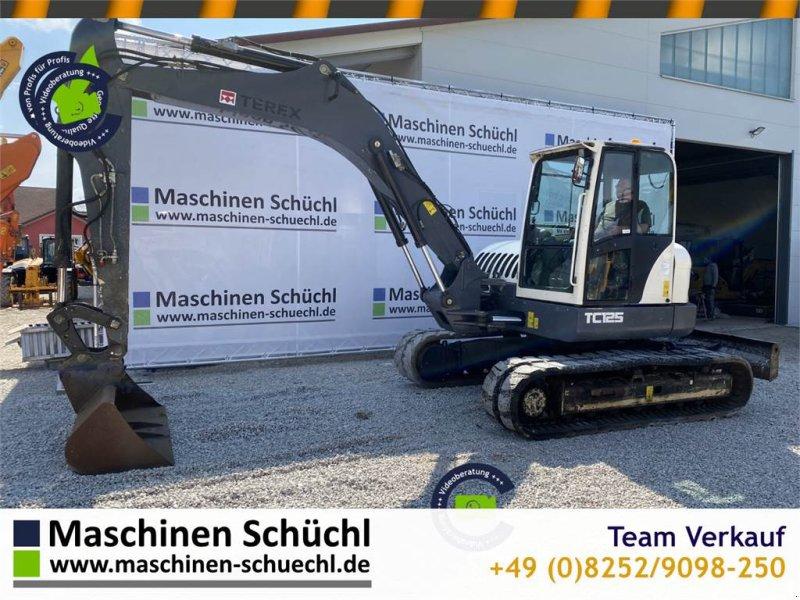 Bagger типа Terex TC 125 Midibagger 13to, Gummiketten, Greiferhydr., Gebrauchtmaschine в Schrobenhausen (Фотография 1)
