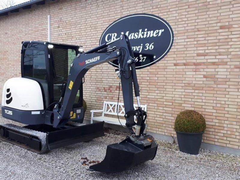 Bagger типа Terex TC 25, Gebrauchtmaschine в Fårevejle (Фотография 1)