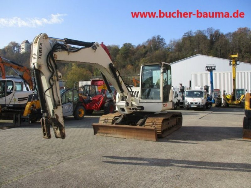 Bagger типа Terex TC125, Gebrauchtmaschine в Obrigheim (Фотография 1)