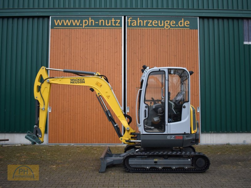 Bagger des Typs Wacker Neuson EZ38, Gebrauchtmaschine in Niederer Fläming OT Riesdorf (Bild 1)