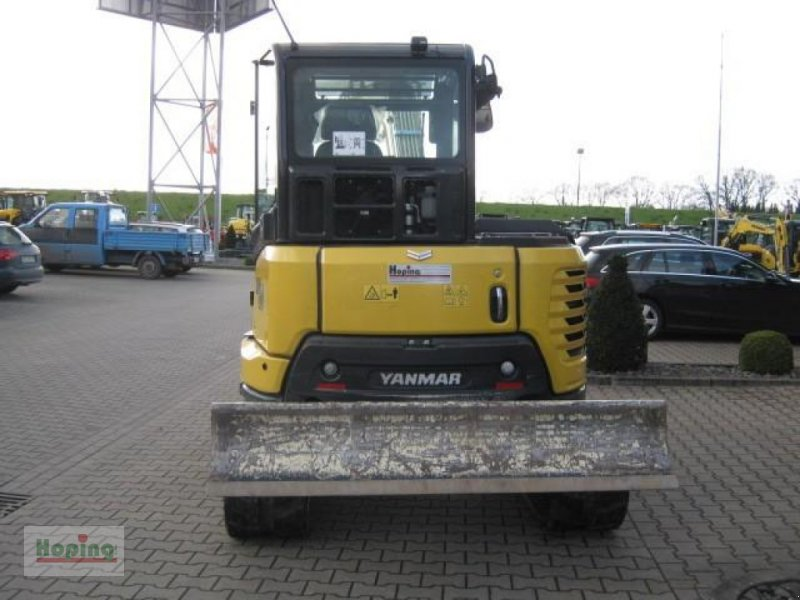 Bagger типа Yanmar SV 60, Gebrauchtmaschine в Bakum (Фотография 4)