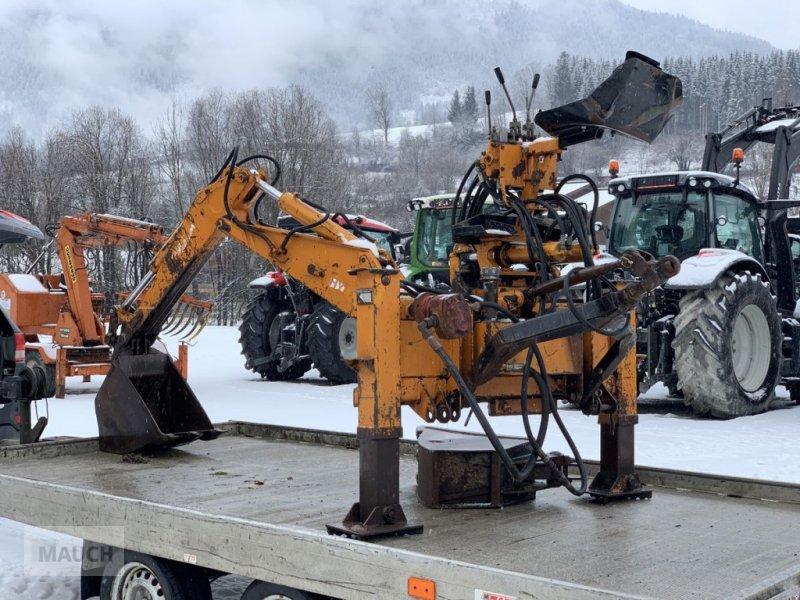 Baggerlader des Typs Hydrac Heckbagger Junior, Gebrauchtmaschine in Eben (Bild 1)