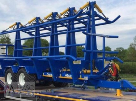 Ballensammelwagen des Typs A. Wilson Engineering Square Move Ballenwagen, Neumaschine in Südbrookmerland (Bild 2)