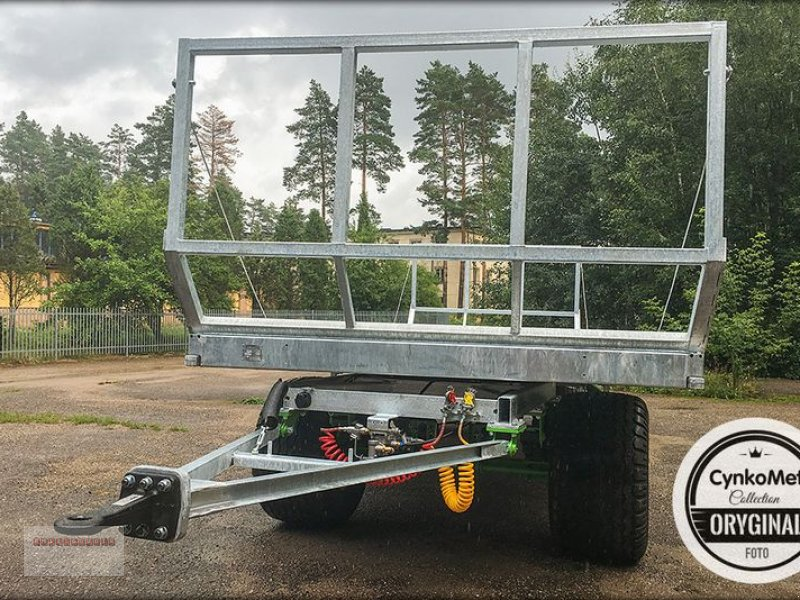 Ballensammelwagen des Typs CYNKOMET T 608 Ballenwagen 10 To. NEU AKTION Verzinkt, Gebrauchtmaschine in Tarsdorf (Bild 4)