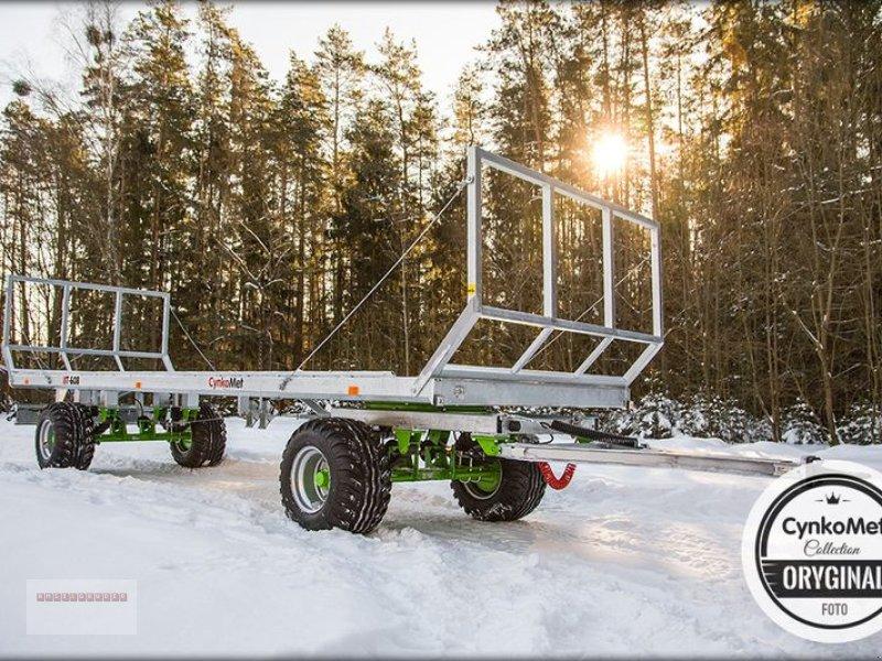 Ballensammelwagen des Typs CYNKOMET T 608 Ballenwagen 10 To. NEU AKTION Verzinkt, Gebrauchtmaschine in Tarsdorf (Bild 9)