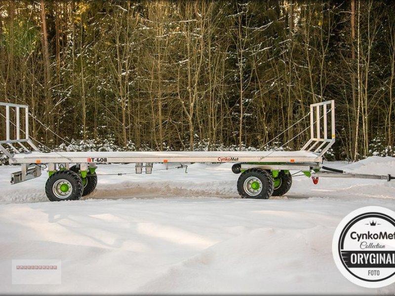 Ballensammelwagen des Typs CYNKOMET T 608 Ballenwagen 10 To. NEU AKTION Verzinkt, Gebrauchtmaschine in Tarsdorf (Bild 6)