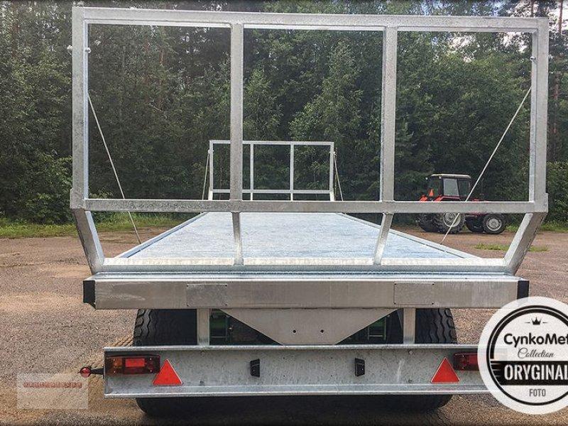 Ballensammelwagen des Typs CYNKOMET T 608 Ballenwagen 10 To. NEU AKTION Verzinkt, Gebrauchtmaschine in Tarsdorf (Bild 5)