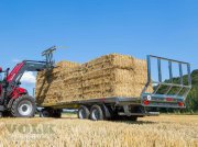 Fliegl DPW 180 BL Bale collecting wagon