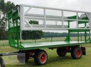 Fortschritt HW 80 mit Ballentransportaufbau vehicul colectare baloți