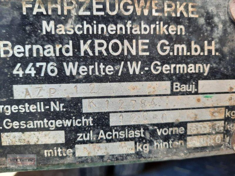 Ballensammelwagen des Typs Krone AZP 12, Gebrauchtmaschine in Tuntenhausen (Bild 9)