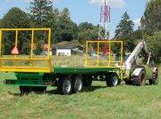 Ballensammelwagen des Typs Metaltech PB 16, Neumaschine in Siekierczyn