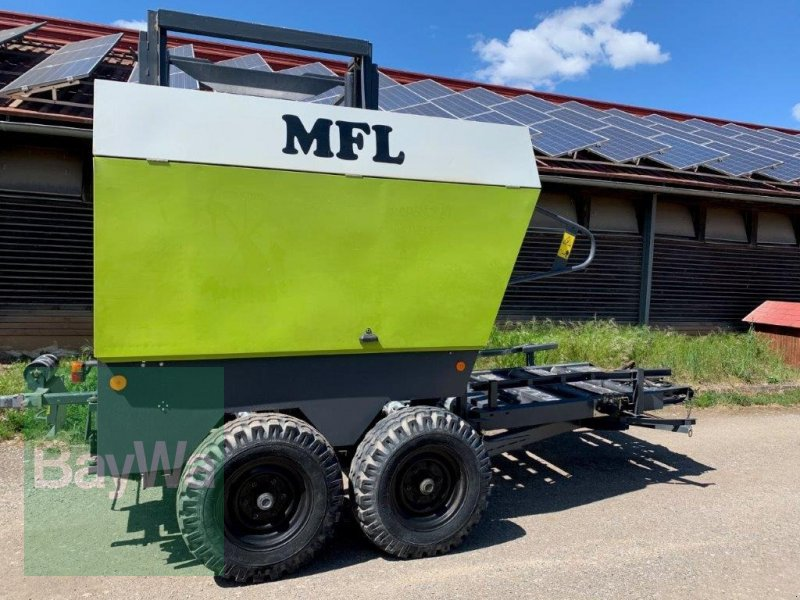 Ballensammelwagen des Typs Mühlberger Fahrzeugbau QuadroPAC, Gebrauchtmaschine in Fürth (Bild 3)