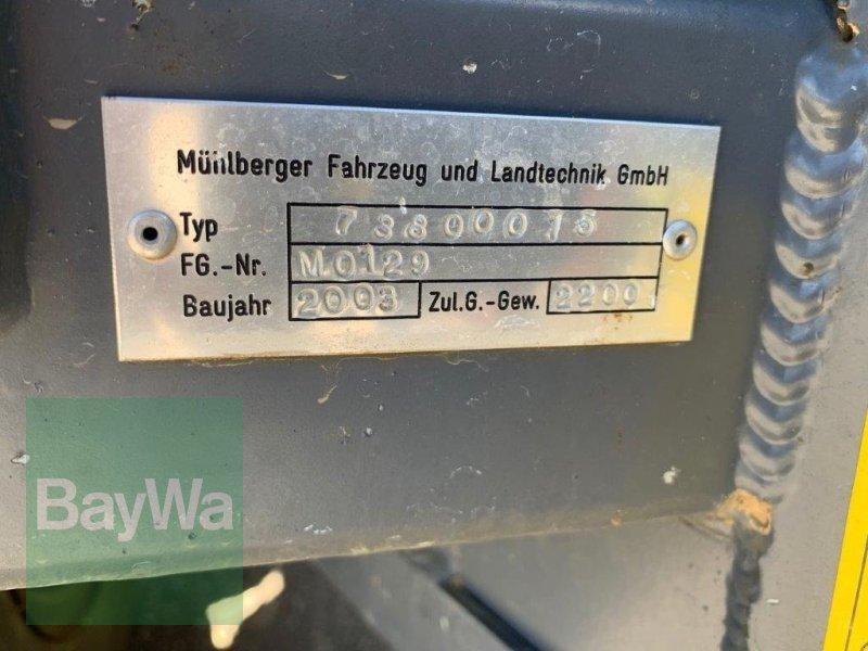 Ballensammelwagen des Typs Mühlberger Fahrzeugbau QuadroPAC, Gebrauchtmaschine in Fürth (Bild 4)