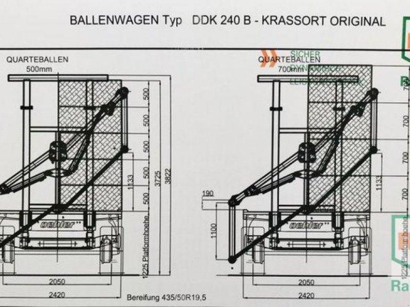 Ballensammelwagen des Typs Oehler DDK 240 BK Modell '21, Neumaschine in Rommerskirchen (Bild 4)